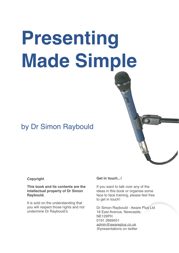 The eBook on presenting - made simple!