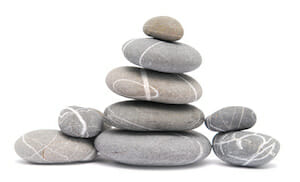 Presentation pebbles!