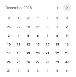 December presentations