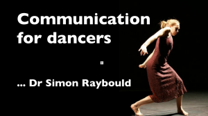 another presentation slide for dancers