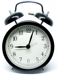 alarm clocks for timing your presentation during rehearsals