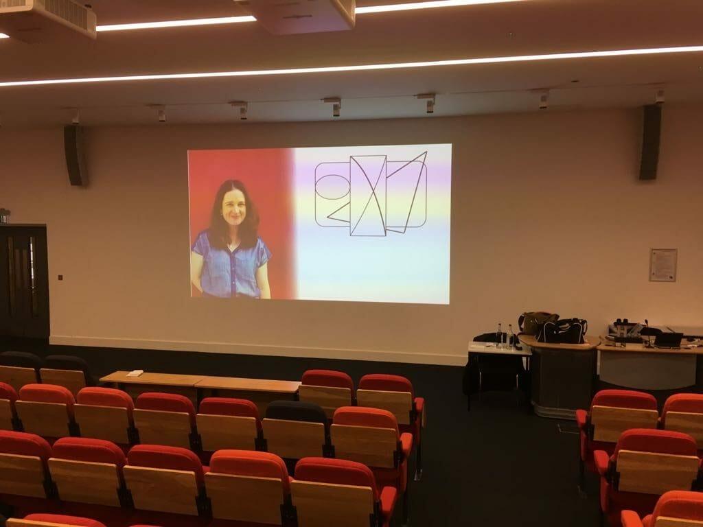 Presentation in a luxury venue