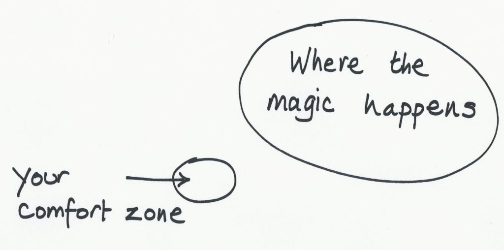 better presentations: why jumping out of your comfort zone is dumb!